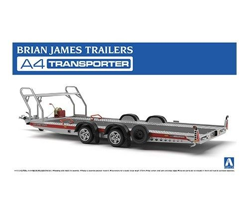 Brian James Trailer A4 Transporter 1/24