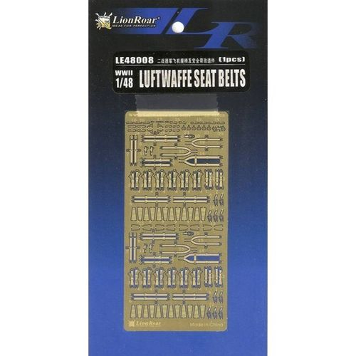 WWII Luftwaffe Seat Belts 1/48