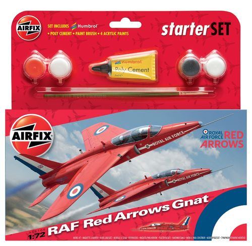 RAF Red Arrows GNAT giftset 1/72