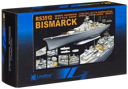Superdetail set for Revell Bismarck