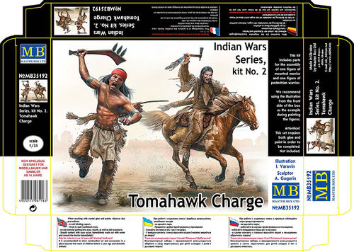 Tomahawk Charge , indian wars kit no.2 1/35