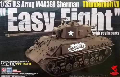 M4A3E8 Sherman Thunderbolt VII Easy Eight 1/35