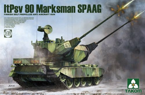Finnish Self Propelled AAGun ItPsv 90 SPAAG 1/35