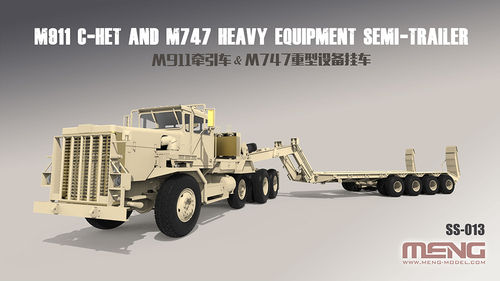U.S. M911 C-HET& M747 Heavy Equipment Semi-Trailer
