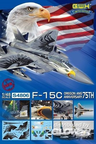 USAF F-15C OREGON ANG 75th Ann. Limited Edition 1/48