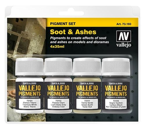 Soot & Ashes Pigment Set