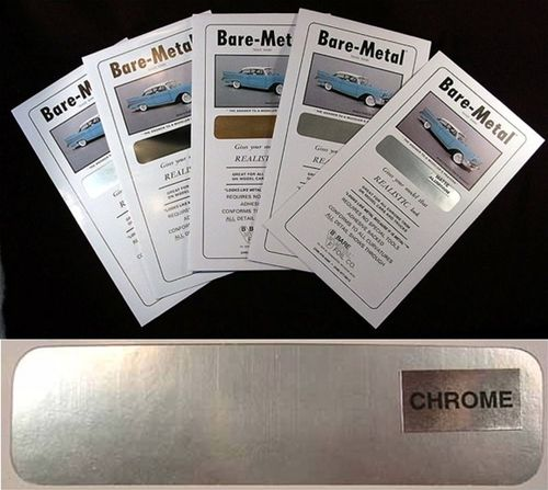 Bare Metal Foil : Chrome Foil