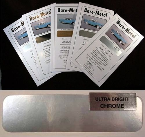 Bare Metal Foil : Ultra Bright Chrome Foil