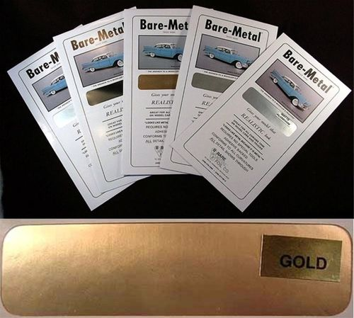 Bare Metal Foil :Gold Foil
