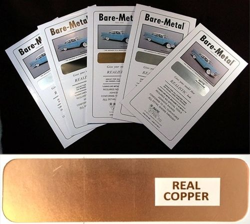 Bare Metal Foil : Real Copper Foil