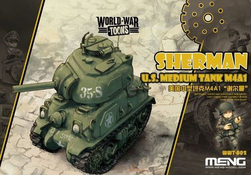 U.S.Medium Tank M4A1 Sherman