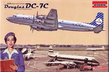 Douglas DC-7C Royal Dutch Airlines (KLM) 1/144