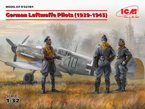German Luftwaffe Pilots(1939-1945)  1/32