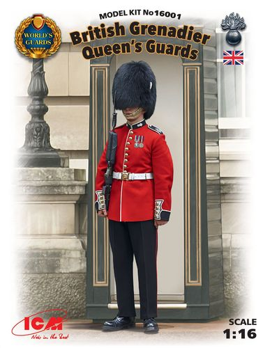British Grenadier Queen's Guards 1/16