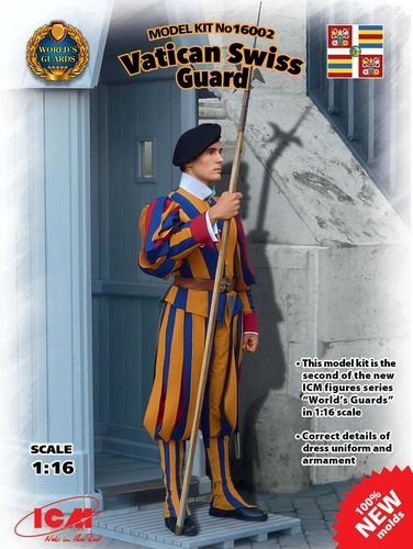Vatican Swiss Guard  1/16