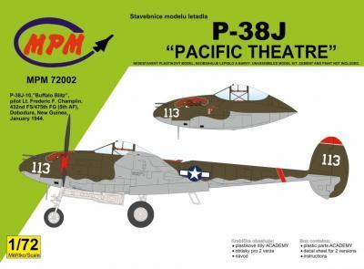 "P-38J Lightning ""Pacific Theatre""1/72"