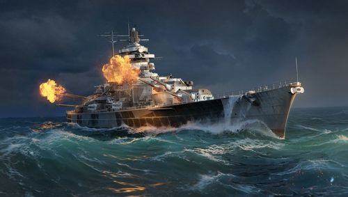 World of Warships - Tirpitz 1/700