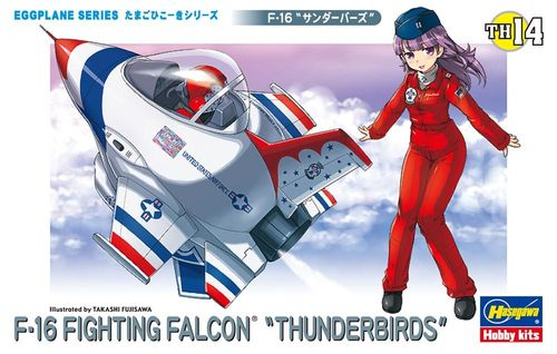 "Eggplane: F-16 FIGHTING FALCON ""Thunderbirds"""