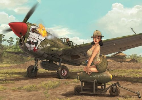 Curtiss P-40N Warhawk (Limited Edition)  1/32
