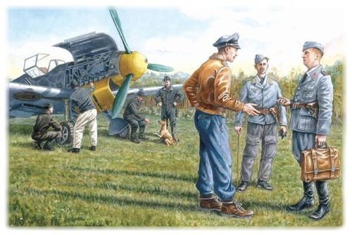 WWII Luftwaffe Ground Personnel (1939-1945) 1/48
