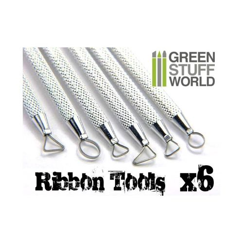 6x Mini Ribbon Tools