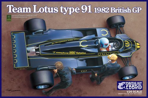 Team Lotus Type 91 1982 1/20