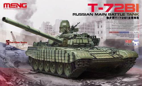 Russian Main Battle Tank T-72B1  1/35