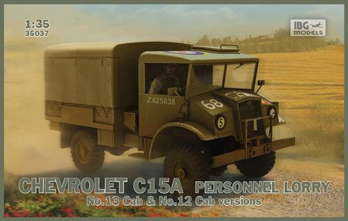 Chevrolet C15A Personnel lorry (No.12 and 13 Cab)  1/35