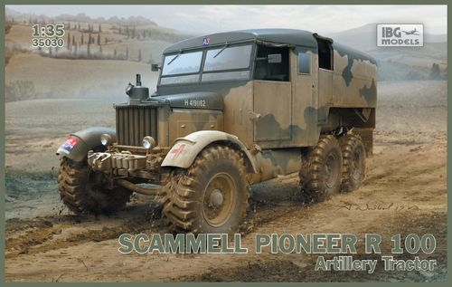 Scammell Pioneer R 100 Artillery Tractor 1/35