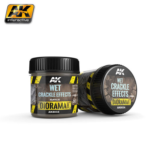 Wet Crackle Effects - 100ml