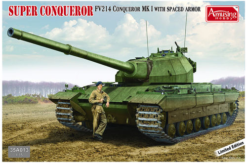 FV 214 Super Conqueror *Limited Edition* + figure 1/35