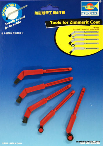 Zimmerit Coating Tools 1/35