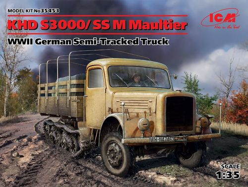 KHD S3000/SS M Maultier Semi-Tracked