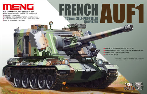 French AUF1 155mm Self-propelled Howitzer  1/35