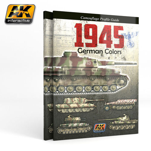 1945 German Colors Camouflage Profiel Guide