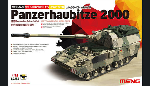 Panzerhaubitze 2000 Self-Propelled Howitzer (add-on Armor)