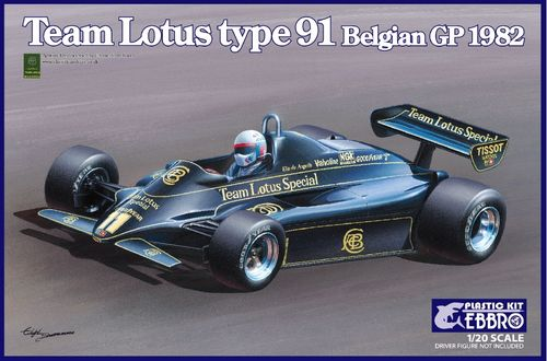 Team Lotus Type 91 Belgian GP 1982 1/20