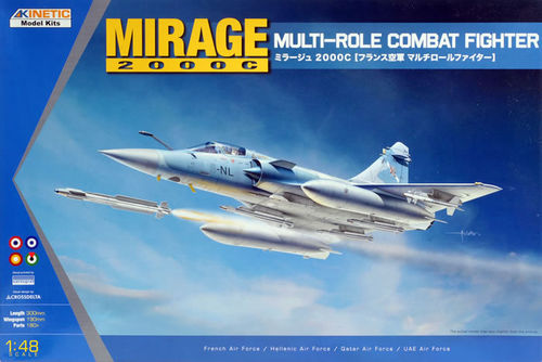 Mirage 2000 C/-5F  Multi-role combat fighter 1/48