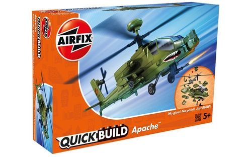 Quick Build: Apache Helicopter