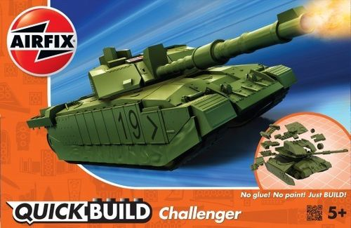 Quick Build: Challenger Tank