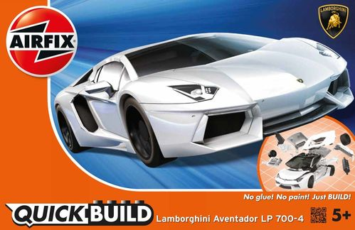 Quick Build: Lamborghini Aventador White