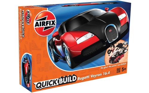 Quick Build: Bugatti Veyron Black & Red