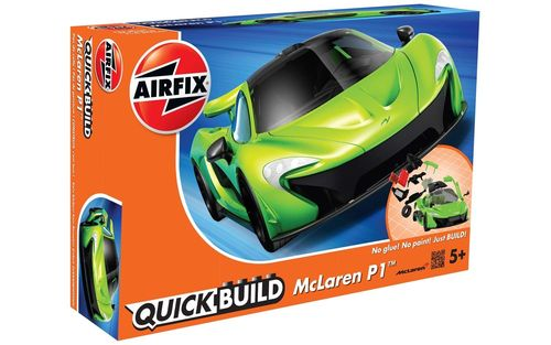 Quick Build: McLaren P1 Green