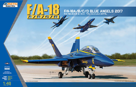 USN Blue Angel 2017 F/A-18A/B/C/D 1/48