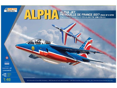"Alpha Jet Patrouille de France ""17 2-in-1 kit 1/48"