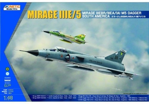 South American Mirage III/V Dagger/Finger  1/48