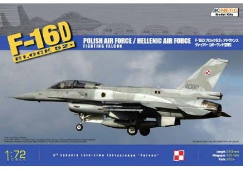 F-16D52+ Hellenic Air Force/Polish Air Force 1/72