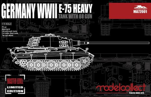 E-75 Heavy Tank with 88 Gun