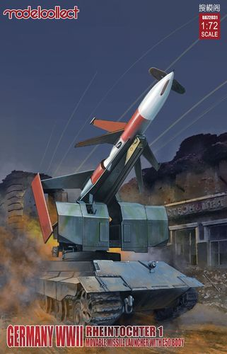 Rheintochter I movable Missile launcher with E50 body