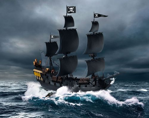 Pirates of the Caribean Black Pearl 1/150